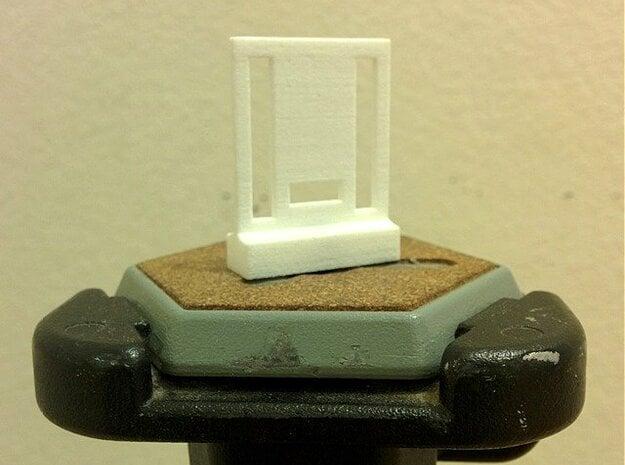 Wearable Camera Tripod Adapter in White Natural Versatile Plastic