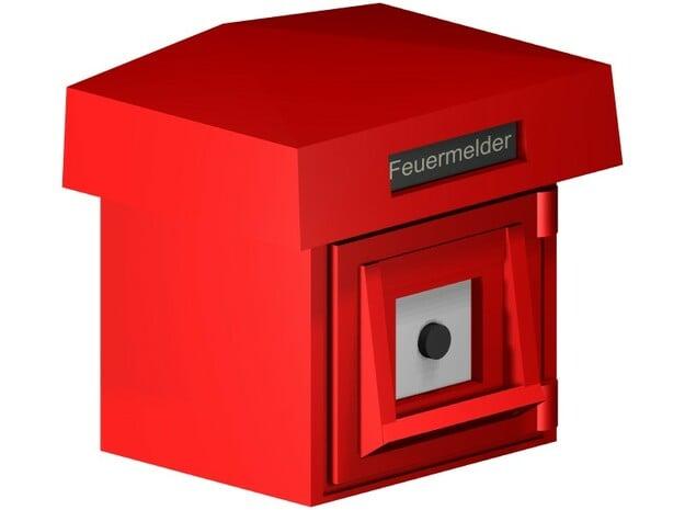 S1-410   Feuermelder  in Smooth Fine Detail Plastic