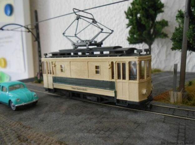 (H0m) - Arbeitstriebwagen in Smooth Fine Detail Plastic