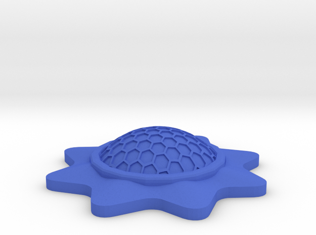 Stackable Shield Token for X-Wing Miniatures in Blue Processed Versatile Plastic