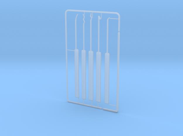 Lock Pick Set in Smooth Fine Detail Plastic