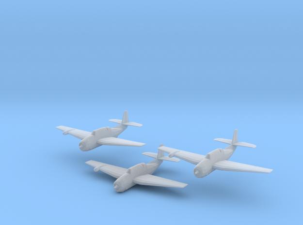 Grumman TBF/TBM w/radome 'Avenger' 1/200 x3 in Smooth Fine Detail Plastic