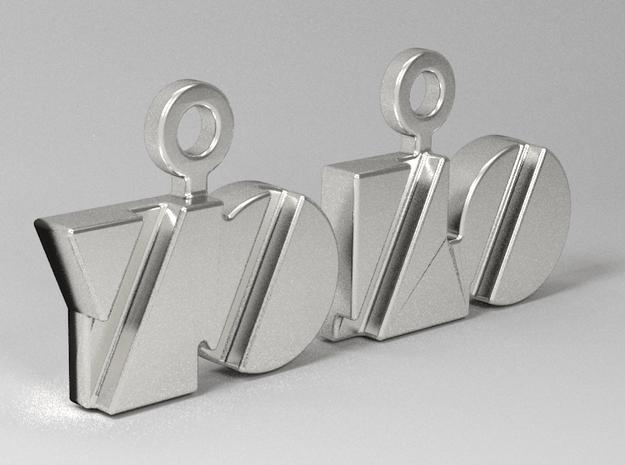 Yolo Earrings in White Natural Versatile Plastic