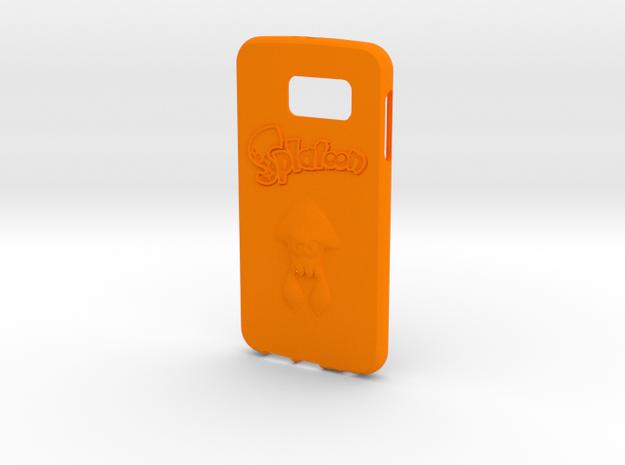 Splatoon Galaxy S6 Case in Orange Processed Versatile Plastic