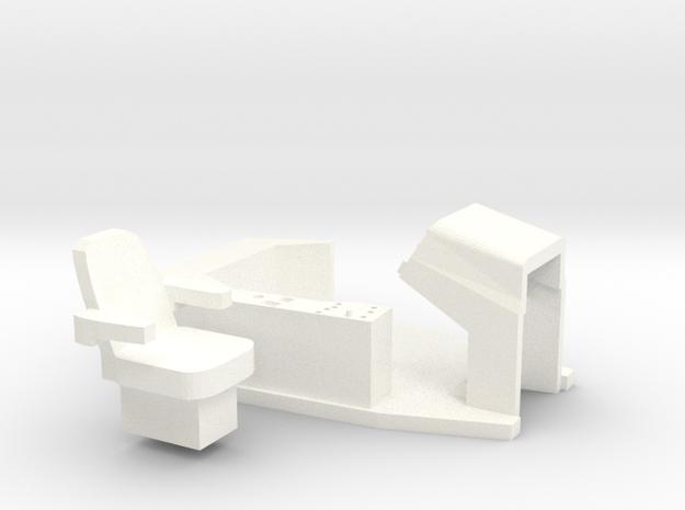 Versatile New Holland Ford 9880 Interior in White Processed Versatile Plastic