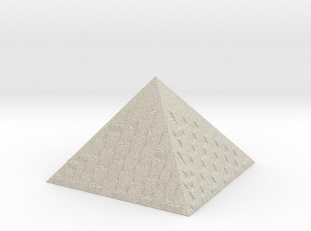 PYRAMiDE in Natural Sandstone