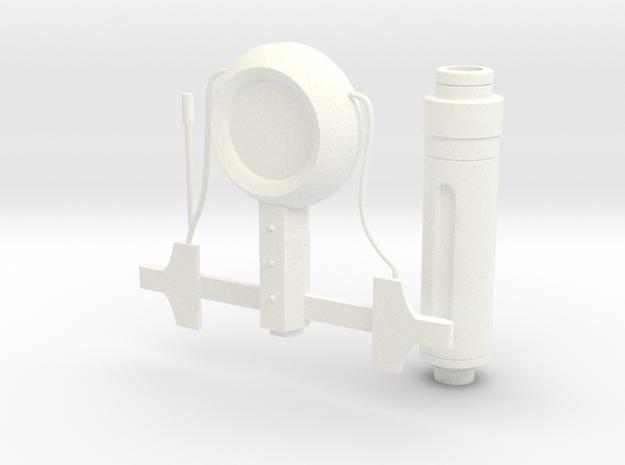 Stimpak (3 pcs) in White Processed Versatile Plastic