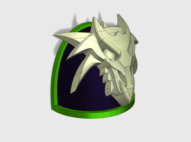 10x Dragon Skull 3D - G:4a Shoulder Pad