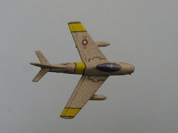 1/285 (6mm) F-86 Sabre  in White Natural Versatile Plastic