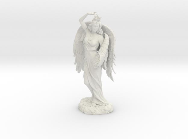 Goddess Fortuna in White Natural Versatile Plastic