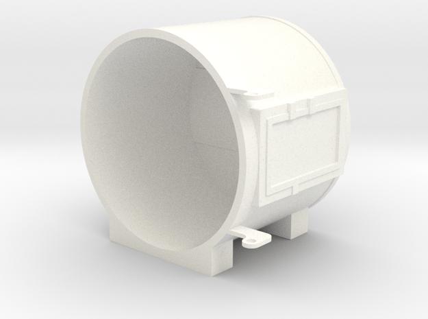 "1"" Scale Live Steam Sunbeam Headlight in White Processed Versatile Plastic"