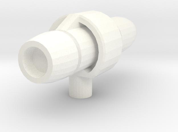 Scourge Head Missile in White Processed Versatile Plastic