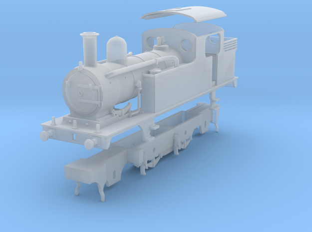 LNER class F4 2.4.2 condensing tank loco  in Smooth Fine Detail Plastic