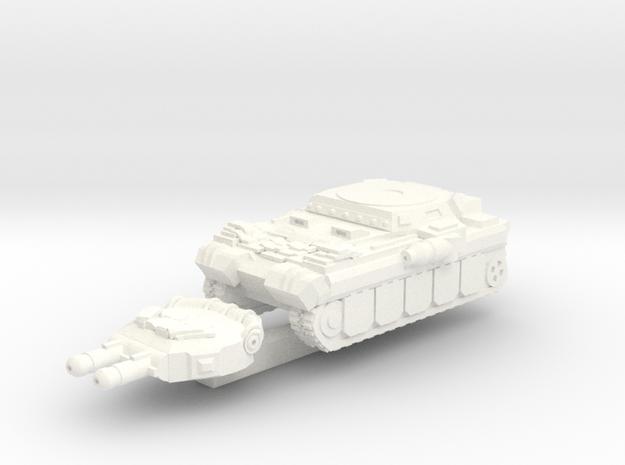 Lupus Magna (Extra Armor) in White Processed Versatile Plastic