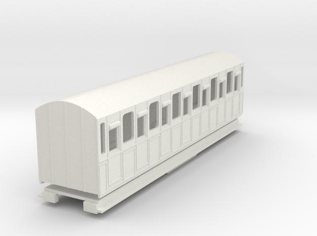 BM4-105 009 FR Coach 22 in White Natural Versatile Plastic