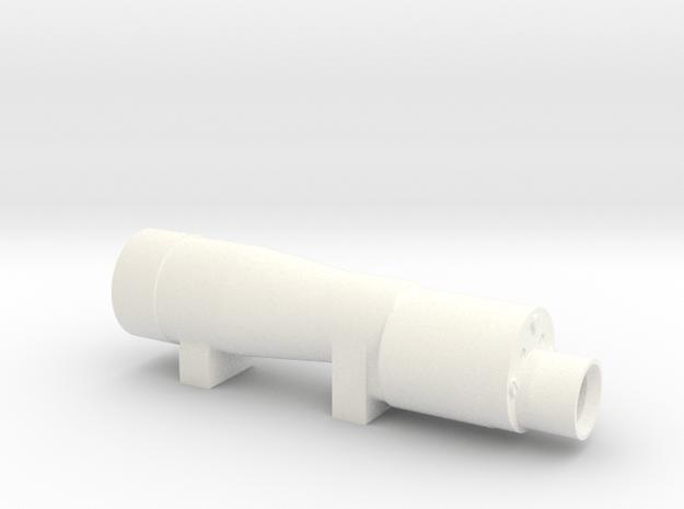 M38a Scope in White Processed Versatile Plastic