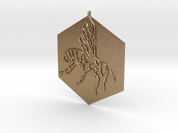 Bee•tween in Polished Gold Steel