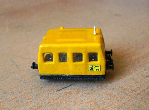 ÖBB X626 in 1:160 in Smooth Fine Detail Plastic