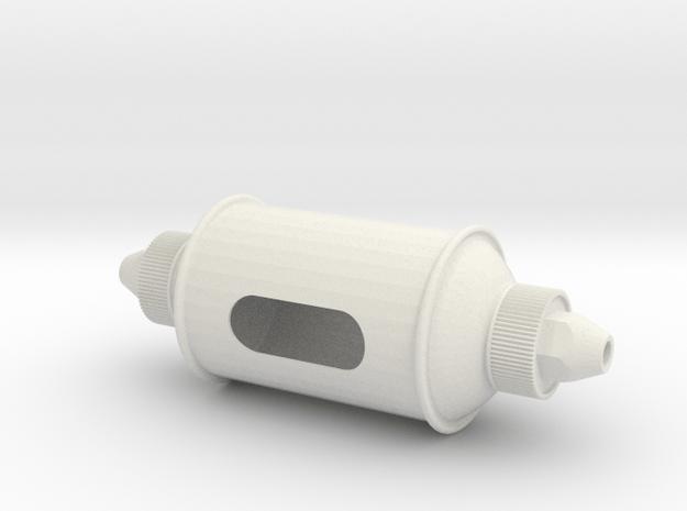 Desert Dweller Breather in White Natural Versatile Plastic
