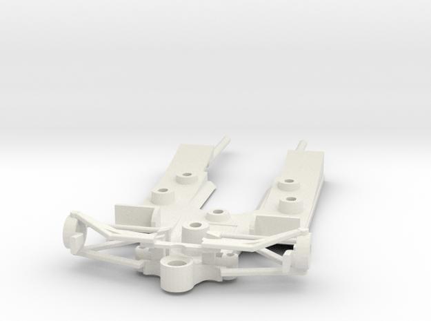 Lotus 78 chassis in White Natural Versatile Plastic