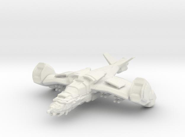 Gremlin Gunship in White Natural Versatile Plastic