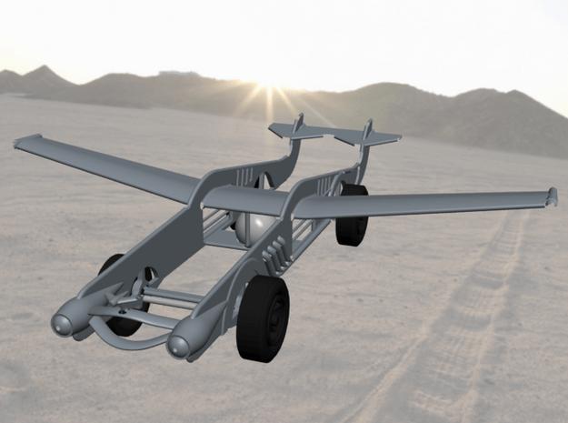 Glider Car - Launch Day 2013 in White Natural Versatile Plastic