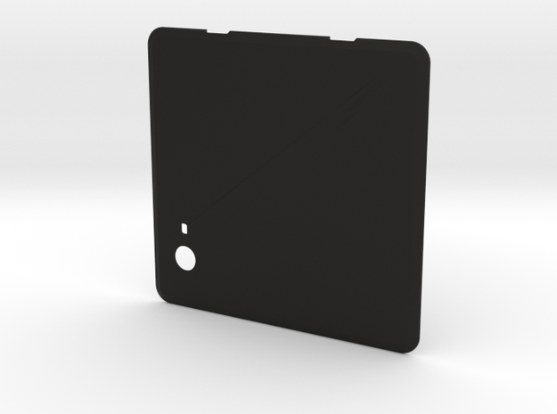 NUC Chassis Removable Cover - Add Your Logo! in Black Natural Versatile Plastic