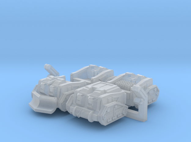 Mule Ammunition Tractor (Alternate Set) in Smooth Fine Detail Plastic