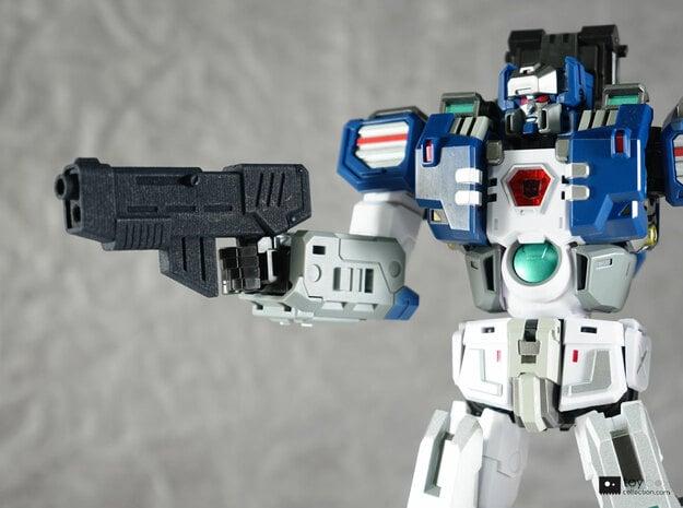 Transformers CHUG assault rifle in Black Natural Versatile Plastic