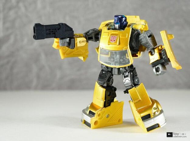 Transformers CHUG pistols (pair) in Black Natural Versatile Plastic