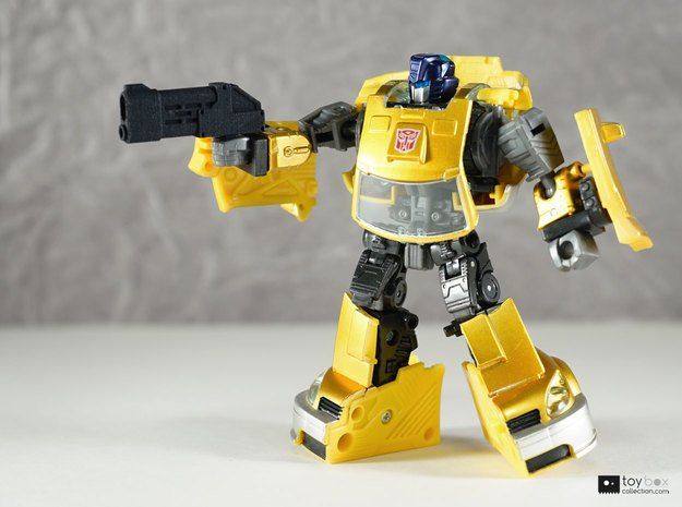 Transformers CHUG pistol (single) in Black Natural Versatile Plastic