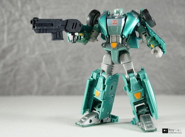 Transformers CHUG Shotgun in Black Natural Versatile Plastic