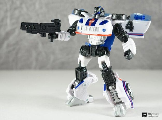 Transformers CHUG Machine Pistol in Black Natural Versatile Plastic