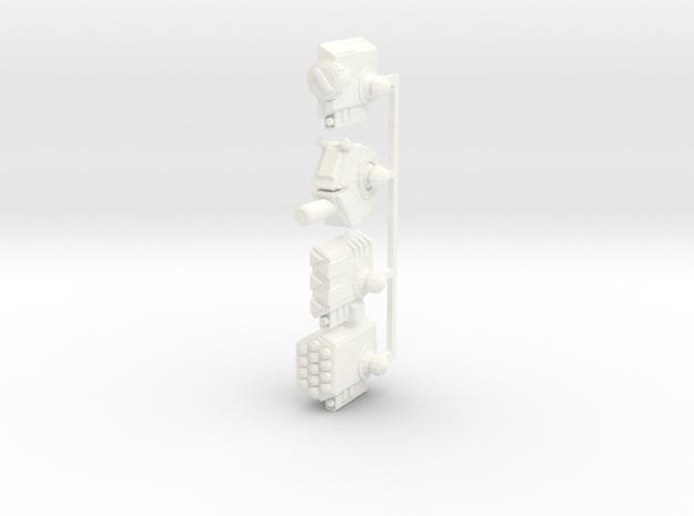 Weaponpack1-R in White Processed Versatile Plastic