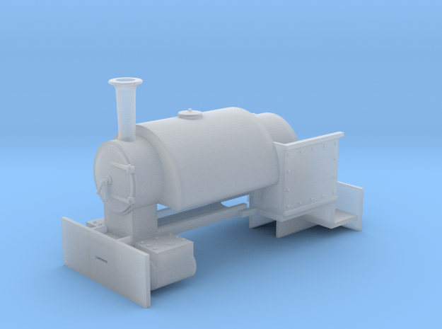 009 Bagnall 'Sybil' Body (4mm scale) in Smooth Fine Detail Plastic
