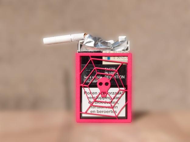 i QUiT CiGARETTE CASE in Pink Processed Versatile Plastic