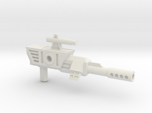 SZT003E Scavenger's Blaster in White Natural Versatile Plastic