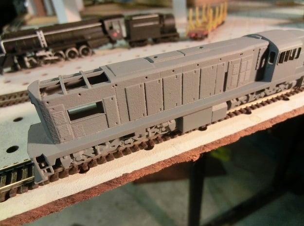 NZ120 Tranzrail QR (1502 class) in Smooth Fine Detail Plastic