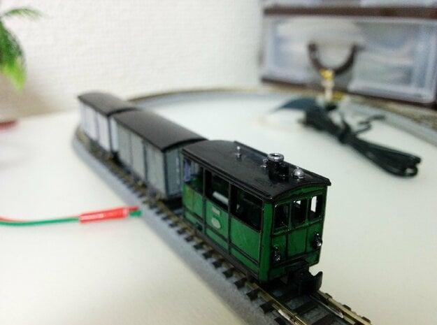 Henschel Tramway (6.5mm gauge) in Smooth Fine Detail Plastic