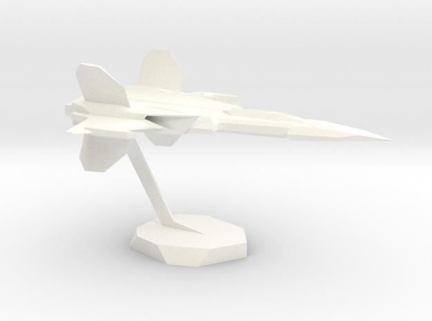 BlasterSpaceJet in White Processed Versatile Plastic