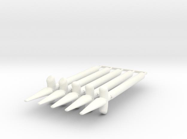 Sun Spear Pack in White Processed Versatile Plastic