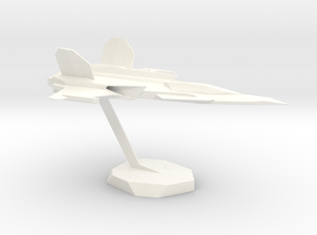 SliderSpacePlane in White Processed Versatile Plastic