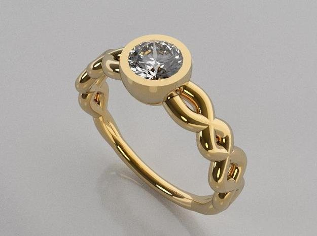 Size6 Gbw13 in 14K Yellow Gold