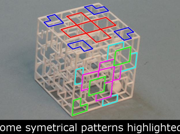 Snaking Stairways - Maze & Mathematical Sculpture