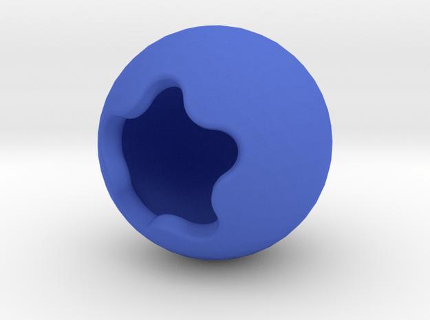 Blueberry in Blue Processed Versatile Plastic