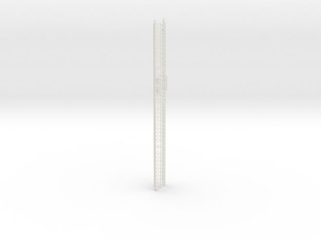 Spine Underside in White Natural Versatile Plastic