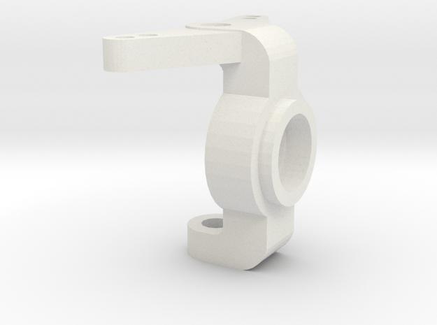 Achsschenkel V1 in White Natural Versatile Plastic
