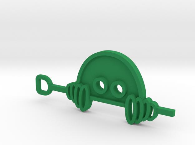 Fiverr Order FO34FF7D0405 in Green Processed Versatile Plastic