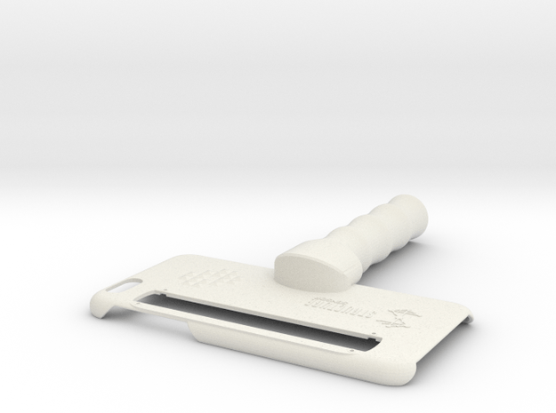 Structure Sensor iPhone 6 Plus & 6S Plus Case in White Natural Versatile Plastic