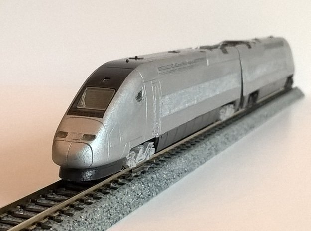N.03A - Part A - SNCF TGV Duplex Motrice - N Sca in Smooth Fine Detail Plastic